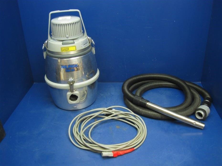 NILFISK GM 80 INDUSTRIAL HEPA VACUUM CLEANER