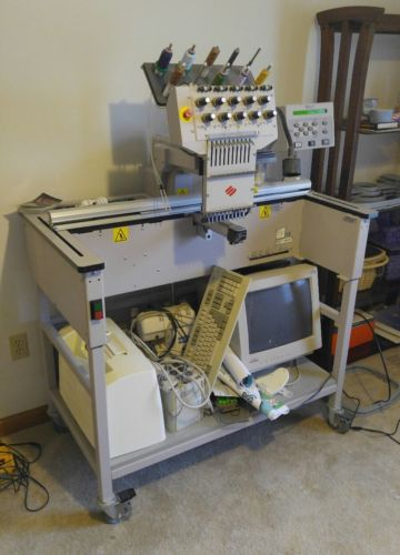 Melco Embroidery Machines EMC10T  EMT10T  EDS IV Xtreme - MAKE OFFER - HUGE LOT!