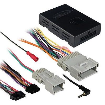 GMOS-01 GM Class 2 without Amp Interface Harness  Select GM Vehicles