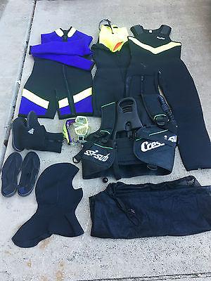 Scuba Diving Equipment  set -No Regulators