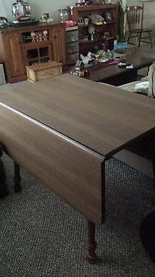 Tell City drop leaf dining table