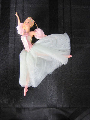 New 1999 Barbie as Marzipan in the Nutcracker Porcelain Ornament