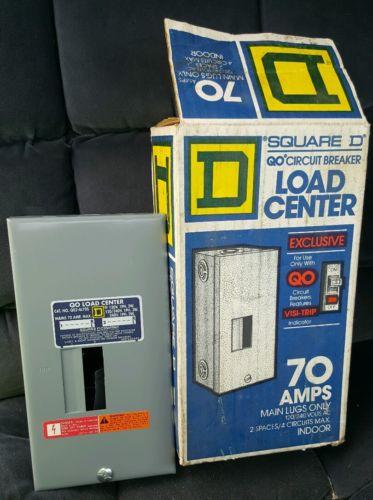 Square D QO Circuit Breaker 70 Amp Load Center 120/240 V AC Indoor Visi-Trip