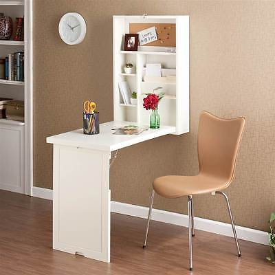Fold-Out Convertible Desk in Antique White [ID 133471]