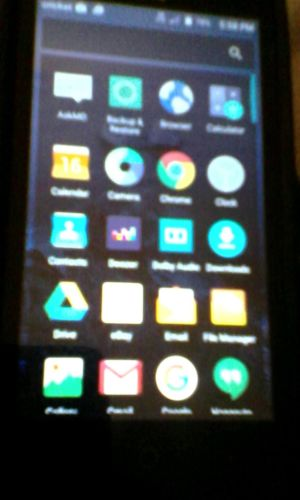 Cricket Wireless ZTE Fanfare 2  Android phone.  USED BUT IN GREAT CONDITION!