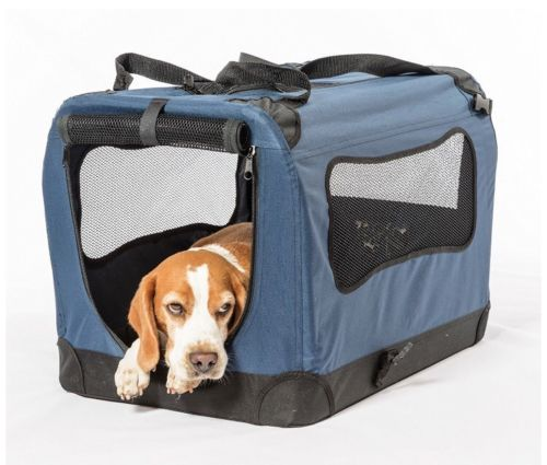 Soft Collapsible Indoor Outdoor Portable Dog Crate