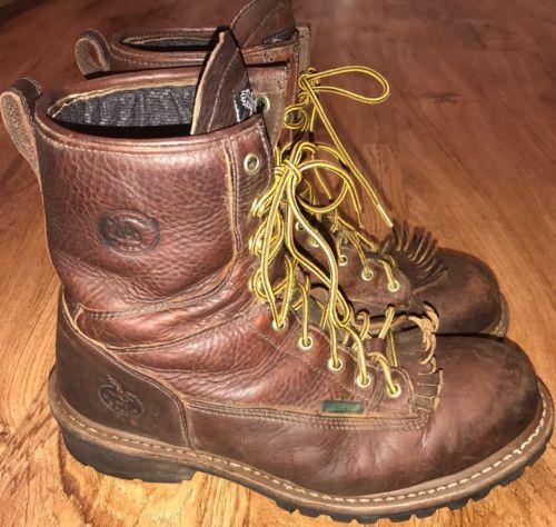 Georgia Boots Men's Size 12 Steel Toe