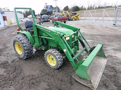 John Deere 790 Compact Tractor With OEM Loader, Only 534 Hrs!!, 1 Owner!!, 4x4