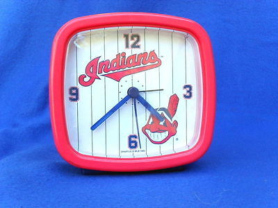 Cleveland Indians Battery Operated Alarm Clock