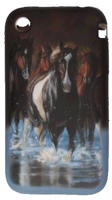 iPhone 4G and 4Gs Cover- Running Horses