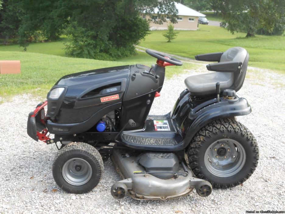 26hp craftsman rideing mower