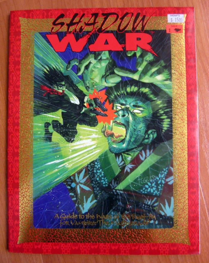 Shadow War Kindred of the East WW 2903 Vampire the Masquerade used