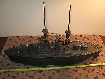ORKIN/ BING BATTLE SHIP ''NEVADA'' EXC. CONDITION