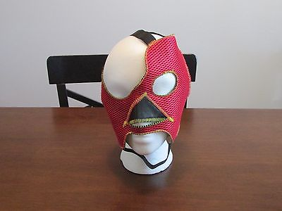 Ring Worn Signed Abyss Pro Wrestling Mask TNA WWE COA