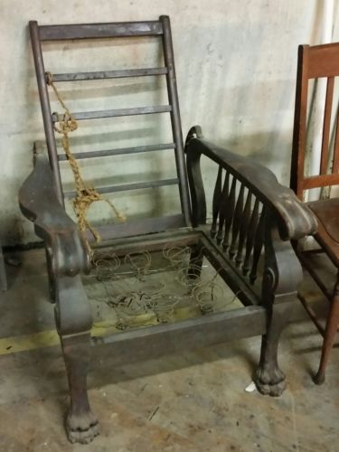 Vintage antique MORRIS RECLINING CHAIR. & Antique Morris Chair - For Sale Classifieds islam-shia.org