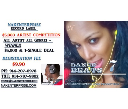 Record Label $5,000 Artist Competition