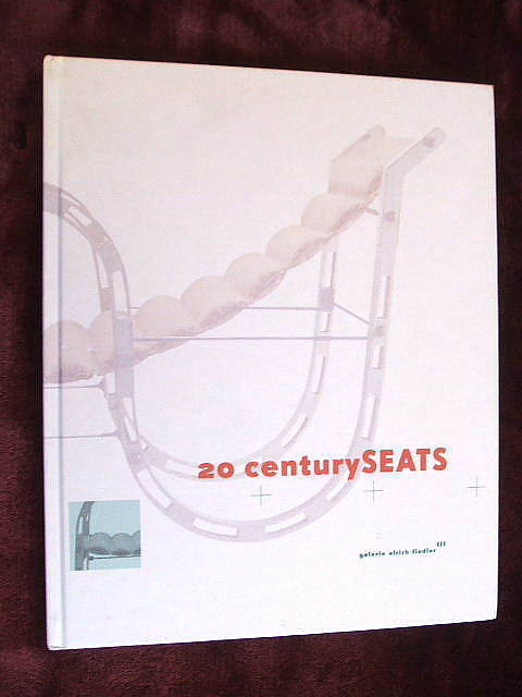 20 CENTURY SEATS - CHAIR DESIGN rare catalog Corbusier, Breuer, van der Rohe etc