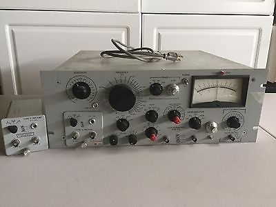Princeton Applied Research Lock-In Amplifier HR-8 w/ Type A & C Preamp