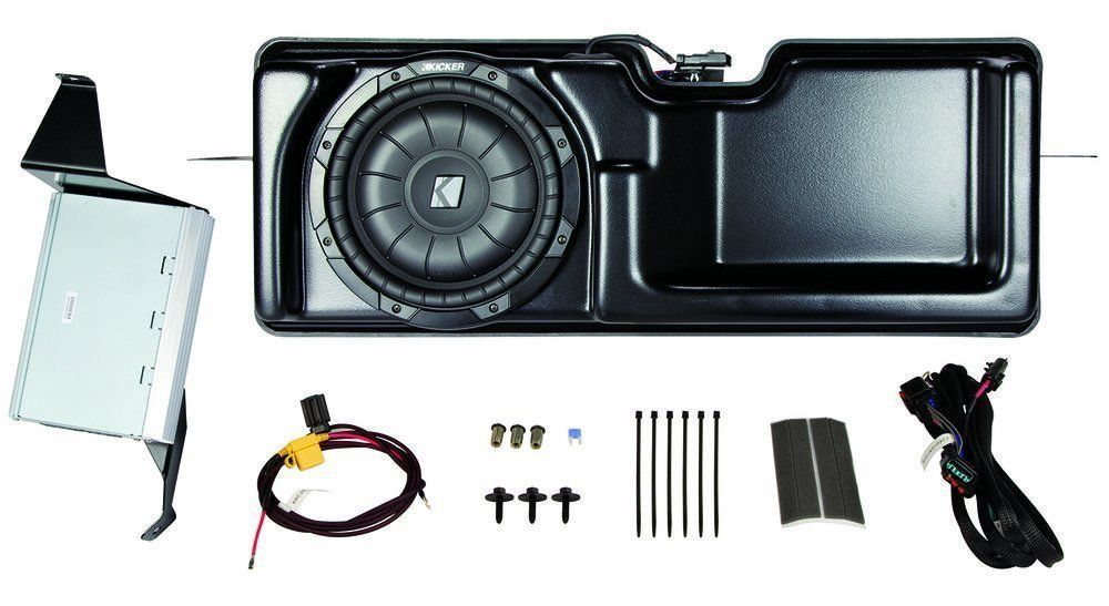 PF150S09 Kicker Amp & Sub Upgrade Kit for Ford F-150 Super Cab, 2009-2010