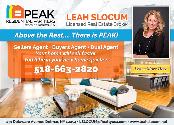 Leah Slocum PEAK Residential Partners Team