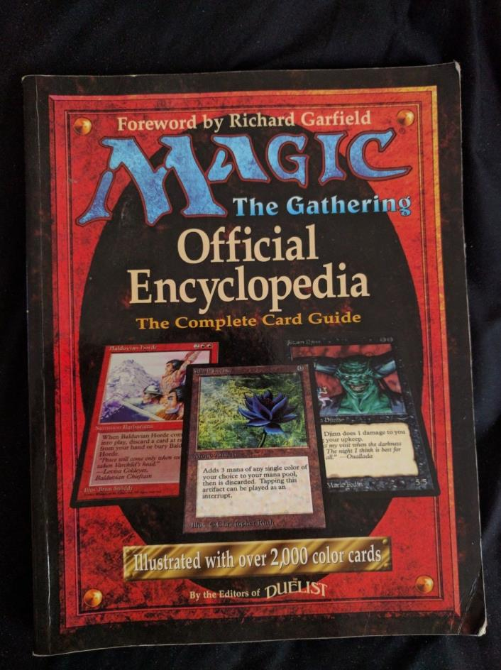 Magic the Gathering Official Encyclopedia: The Complete Card Guide