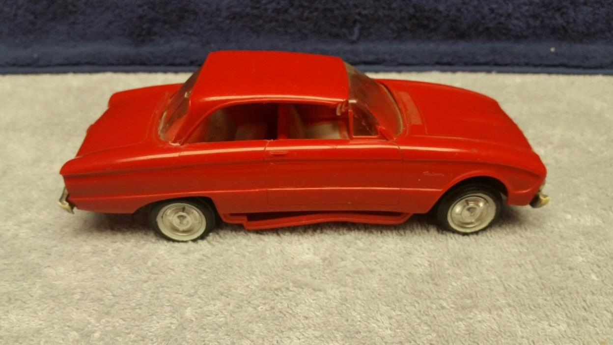 1960 Original Ford Falcon Dealer Promo in Red For Parts