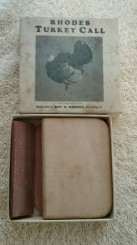 VINTAGE RHODES TURKEY CALL