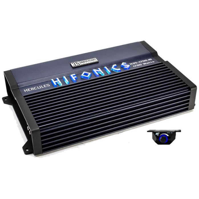 NEW HIFONICS HERCULES H3517001D 1700 WATT AMPLIFIER CAR AUDIO MONOBLOCK SUB AMP