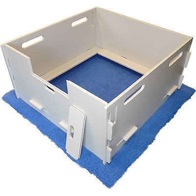MagnaBox Whelping Box - FACTORY SECOND - Simple Sanitary Safe Easy to Assemble