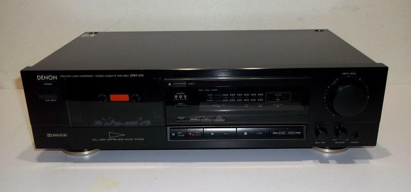 Denon Stereo Cassette Deck DRM-400