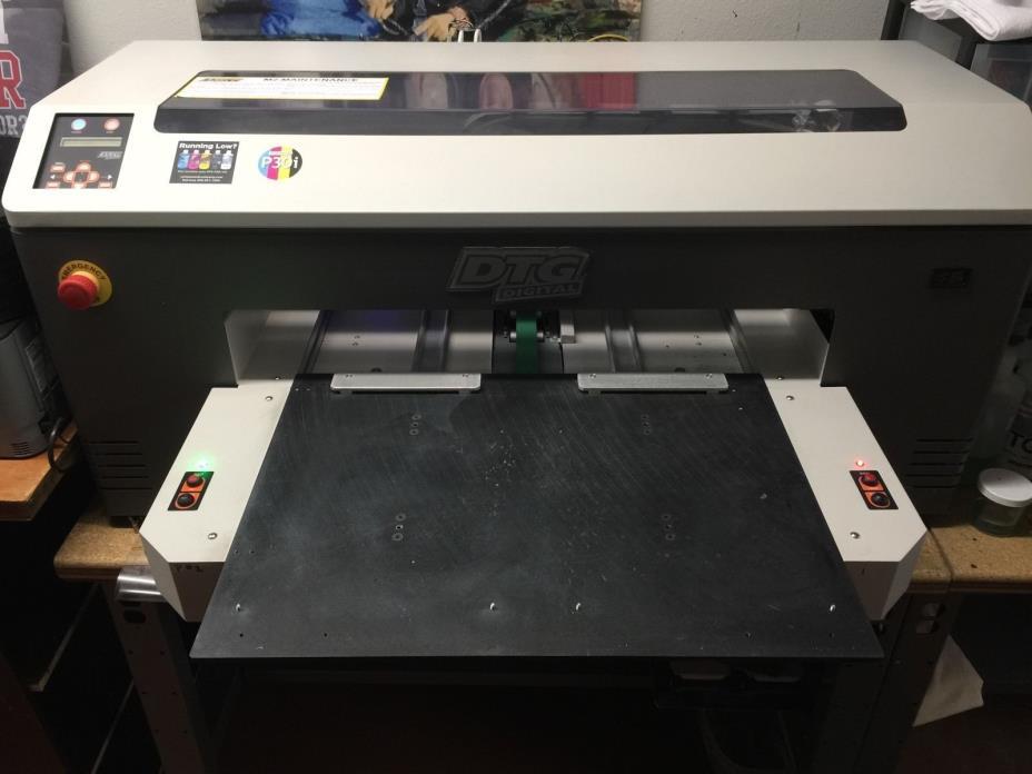 DTG M2 Direct to Garment T-Shirt Printer - Used 60 prints