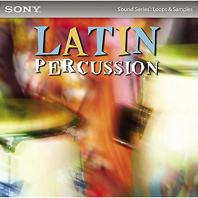 Sony Creative Software Sample CD: Joe Vitale - 600 (452MB) original loops - WAV