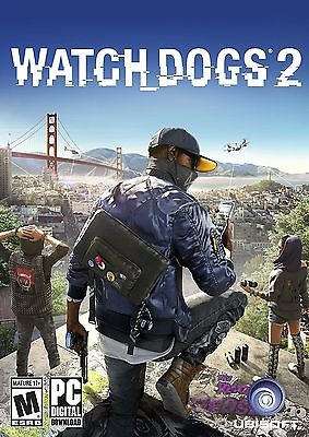 Watch Dogs 2 PC UBISOFT Samsung Redemption Code - Please Read Listing Details!