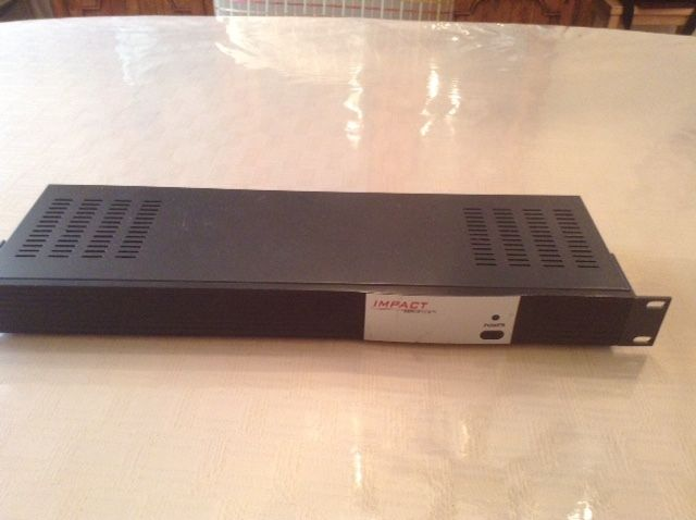 IMPACT Composit Video Stereo/Audio Distribution Amplifier 4 Channel