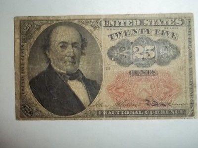 Paper Money US 25 Cents 1874