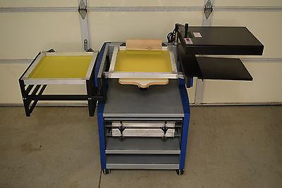 Press A Print Silk Screen Printing System