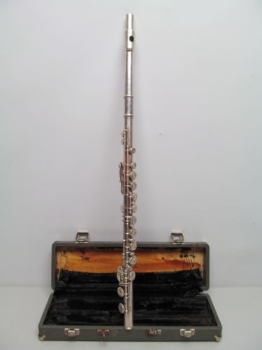 Vintage Selmer Signet Special Coin Silver Flute W/Case