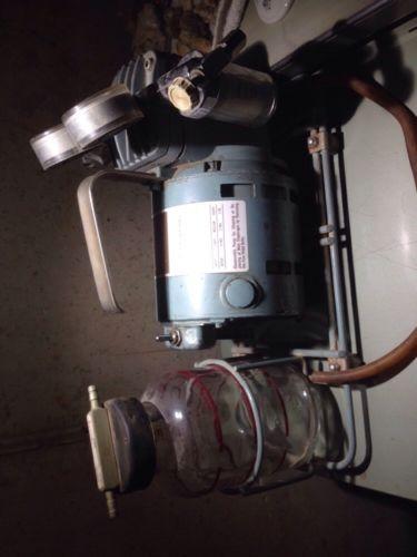 Vintage AIR SHIELDS Dia-Pump Aspirator & Compressor Pump / VACUUM SUCTION PUMP