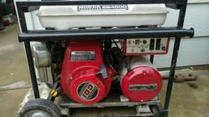 Honda generator and pressure washer (Yuba city)