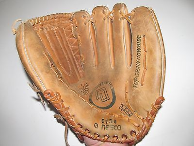 NESCO 9750 All-Star Product Baseball Leather Glove Right Hand Thrower