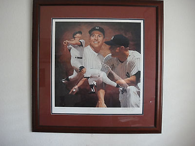 Mickey Mantle 536 Home Run  Lithograph