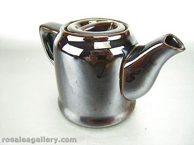 Metallic Brown Teapot, Occupied Japan
