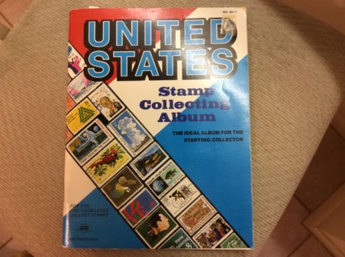 United States Stamp Collector's Album 1982 Edition