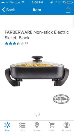 Farberware Electric Frying Pan Ebay