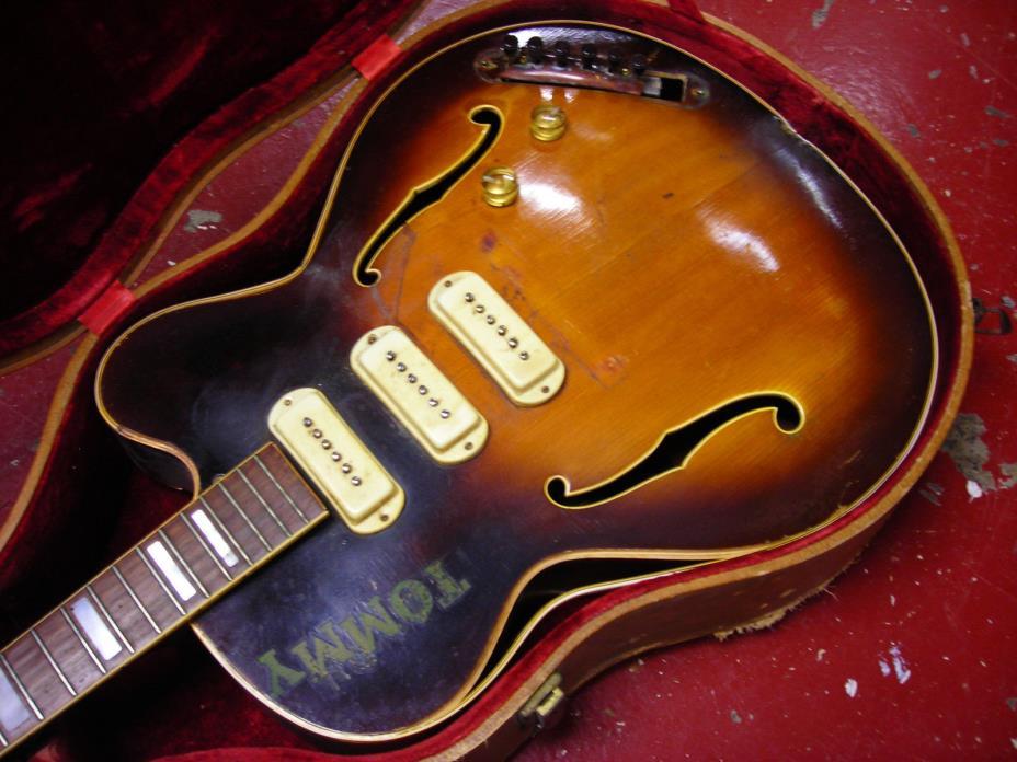 Guild X350 Guitar Project 1954 Vintage Original Hardware Electronics  SN 2017