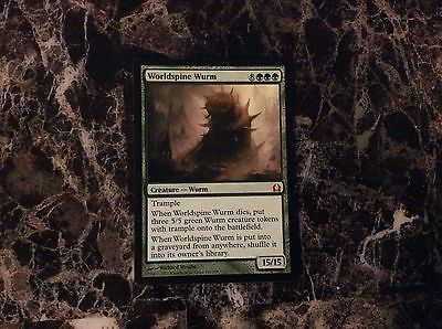 Worldspine Wurm 140/274 Mythic MTG