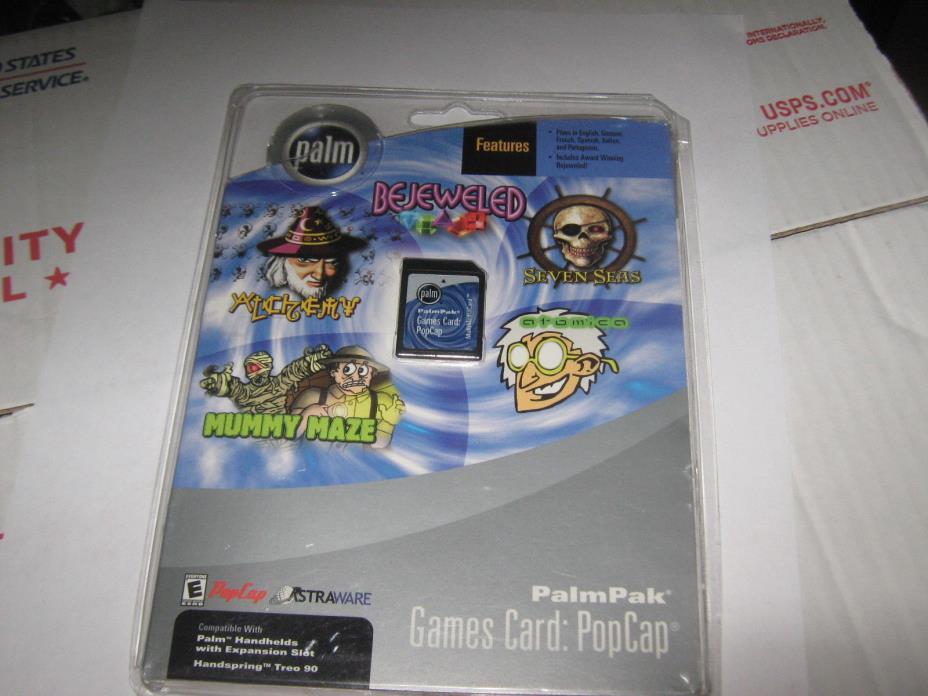 Palm Palmpak Popcap Expansion Card Game Collection - Brand New, Sealed