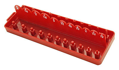 1/4 DR. SAE Socket Set Tray Holder Tool Box Organizer
