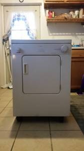 Whirlpool portable clothes dryer (Evansville)