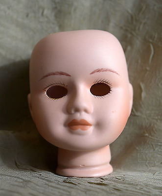 #18#  bisque porcelain doll head